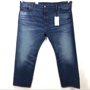 Men's 56 x 34 Levis 501 button fly jeans NEW